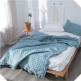 100% Cotton Bed Comforter Bedspread Throw Blanket for Beds Summer Quilt Adult Children Kids Bed Cover Duvets,Bedspread 3,200X230Cm 1Pc