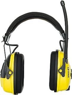 Stanley Sync Digital AM/FM/MP3 Radio Earmuff (RST-63012)