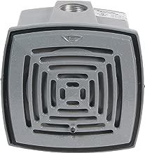 Edwards Signaling 876-N5 Vibrating Horn, Volume Adjustable, 113/103 db, 120V AC, Gray