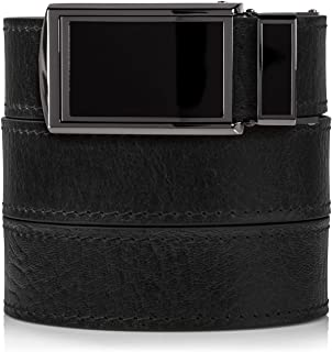 SlideBelts Men's Top Grain Leather Ratchet Belt