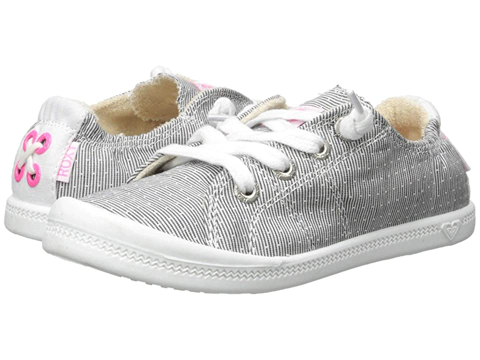 Roxy Kids Bayshore III (Little Kid/Big Kid) (Grey/White) Girl