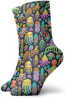 Jhonangel, Boston Terrier Dog Funny Dress Socks Calcetines divertidos Crazy Socks Calcetines casuales para niñas niños