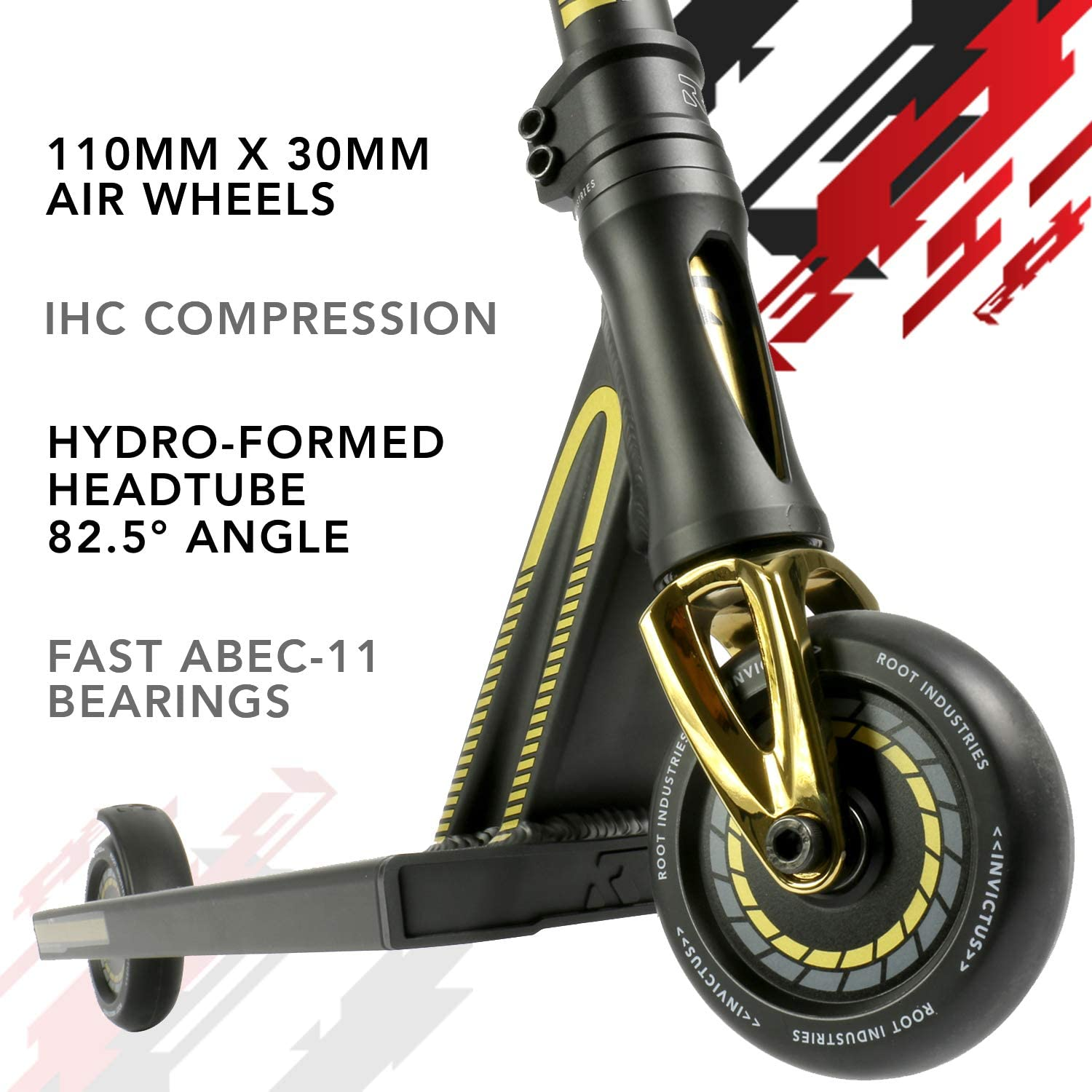 Wide Pro Scooter Wheels Stunt Scooters Pro Scooters for Kids Pro Scooters for Adults Pro Scooter Deck Invictus Complete Scooter Professional Scooter for Any Age Rider
