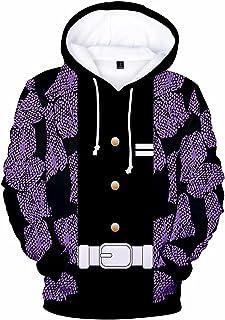 Unisex Anime Pullover Demon Slayer Kimetsu geen Yaiba Hoodies Mannen Vrouwen Tiener DS Sweatshirts Jumper Top Streetwear L...