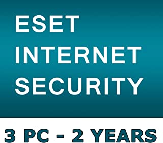 ESET INTERNET SECURITY 2019 / 3 PC's / 2 Year's / Windows PC / GENUINE KEY ESET / One Code - One Buyer ! No CD only Code