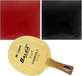 Galaxy T-11+ FL Blade with TWO Globe 999 Supply China National Team Rubbers