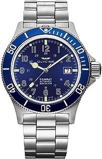 Glycine - Combat Sub GL0077-3908.188AT.B1.MB - Reloj de pulsera para hombre (42 fecha, analógico, automático)