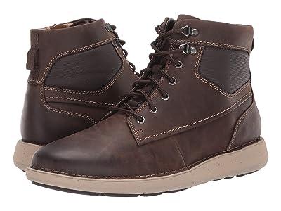 Clarks Un Larvik Peak (Brown Oily Leather) Men