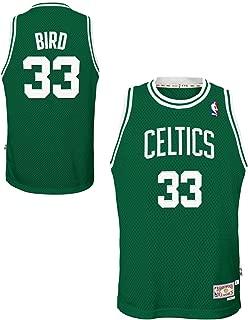 Genuine Stuff Larry Bird Boston Celtics NBA Youth Throwback Swingman Jersey - Green