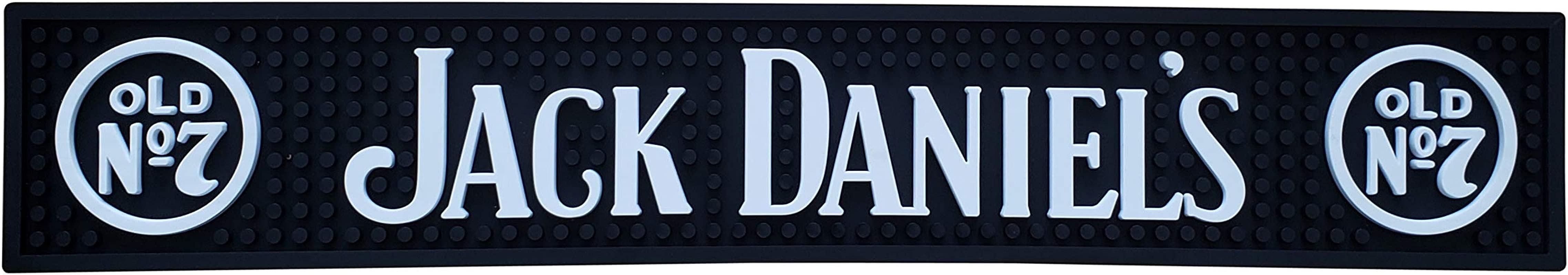 Artisan Owl Jack Daniel S Bar Mat Spill Mat Rail Drip Mat 23 X 4