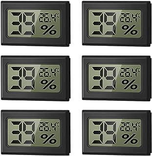 WeChip Mini Termómetro Higrómetro Digital Interior de Temperatura y Humedad, LCD Digital portátil Medidor de Humedad Inter...