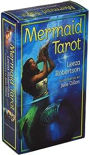 Mermaid 完全英語版のタロットデッキとEGuideブックEinstructionカードゲーム運命告知ゲームセット運命予測カードゲーム