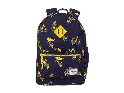Herschel Supply Co. Kids Heritage Backpack (Little Kids/Big Kids) (Construction Zone) Backpack Bags