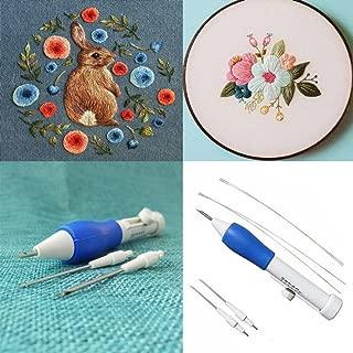 YJYdada Magic Embroidery Pen Embroidery Needle Weaving Tool Fancy
