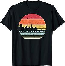 San Francisco Souvenir Shirt. Retro USA Skyline T-Shirt