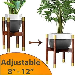 modern tall plant stand