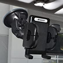 Amzer Amzer Universal Suction Cup Vehicle Car Mount Holder for Windshield, Dash or Console - Mount - Retail Packaging - Black