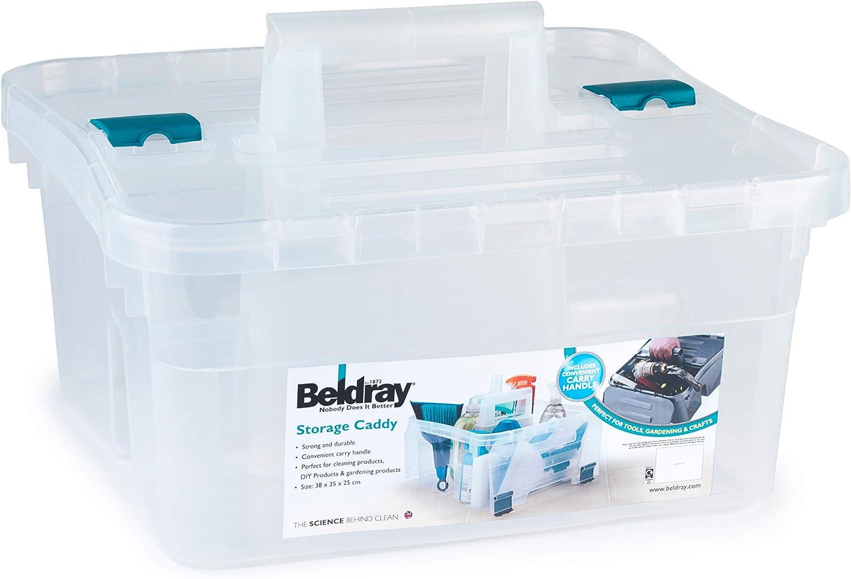 klar Plastik 36 x 38 x 35 cm Beldray LA036759 Box