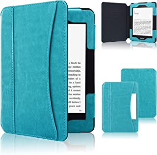 ACdream Case Fits All-New Nook Glowlight Plus 7.8 Inch 2019 Release, Folio Premium PU Leather Cover Case for Barnes&Noble Nook Glowlight Plus 7.8 Inch Ereader, Sky Blue