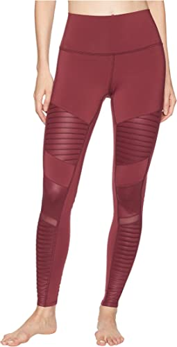 High Waisted Moto Leggings