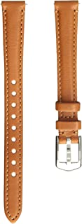 Fossil Women's 12mm Leather Watch Band, Color: Tan (Model: S121018)