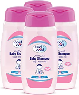 Cool & Cool Baby Shampoo 250ml - Pack of 4