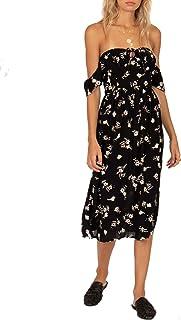 Amuse Society Regency Midi Woven Dress