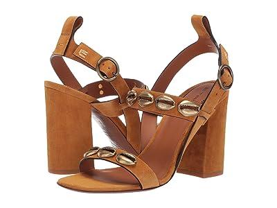 Etro Shell Heeled Sandal (Light Brown) Women