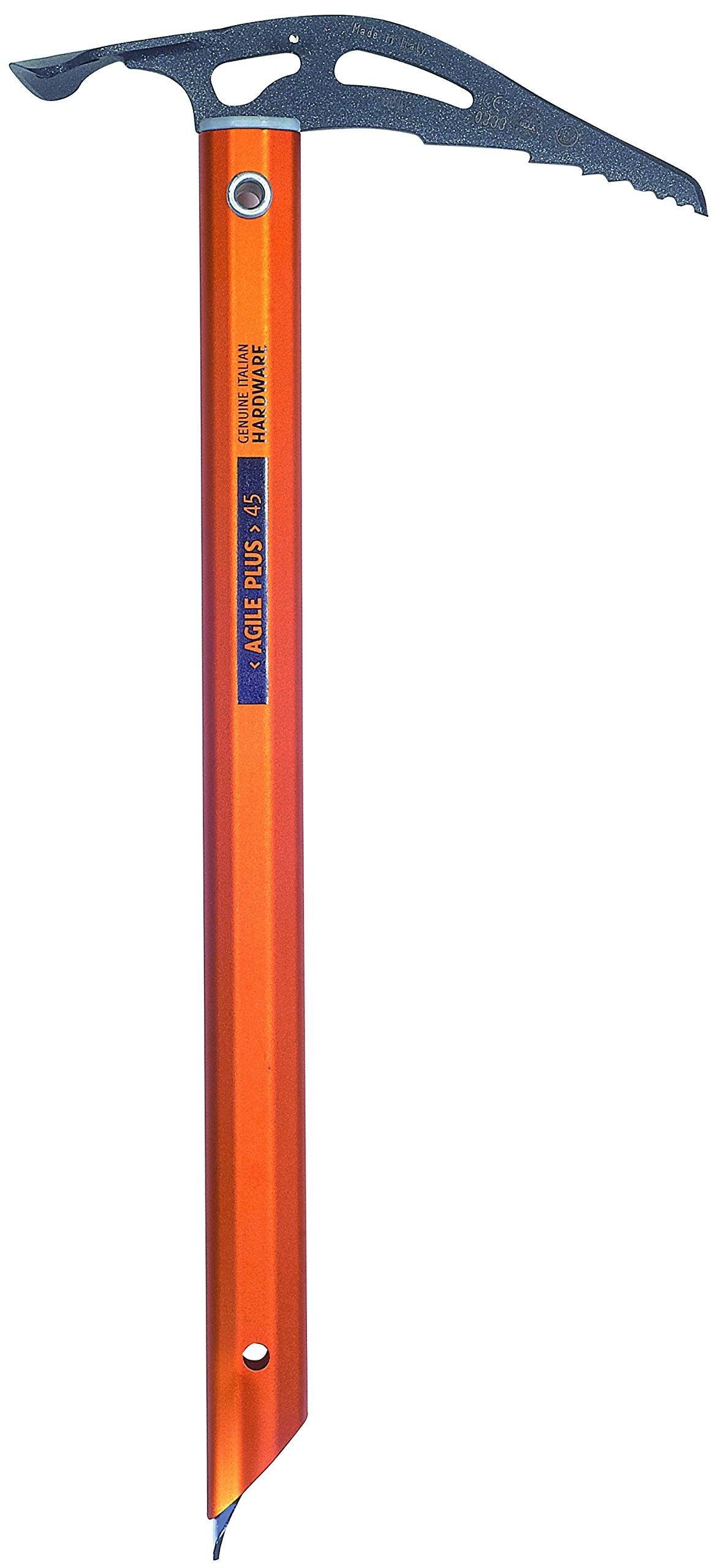 Climbing Technology Agile Plus Ice Axe Länge 55 cm steel, orange