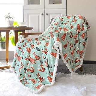 BORITAR Sherpa Throw Blanket Super Soft Warm Ultra Luxurious Fleece Blanket for Baby Children Teen Boys, Unisex or Adult M...