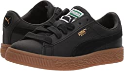 Puma Kids Basket Classic Gum Deluxe (Little Kid)