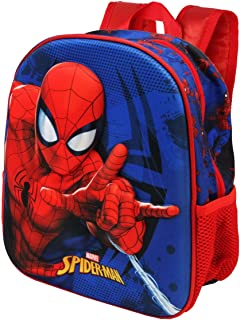 Spiderman Crawler - Mochila 3D Pequeña, Multicolor