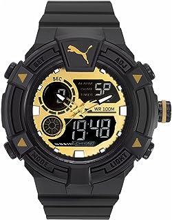 a763ff46 Puma Reloj Analógico-Digital para Hombre de Cuarzo con Correa en Plástico  PU911391004