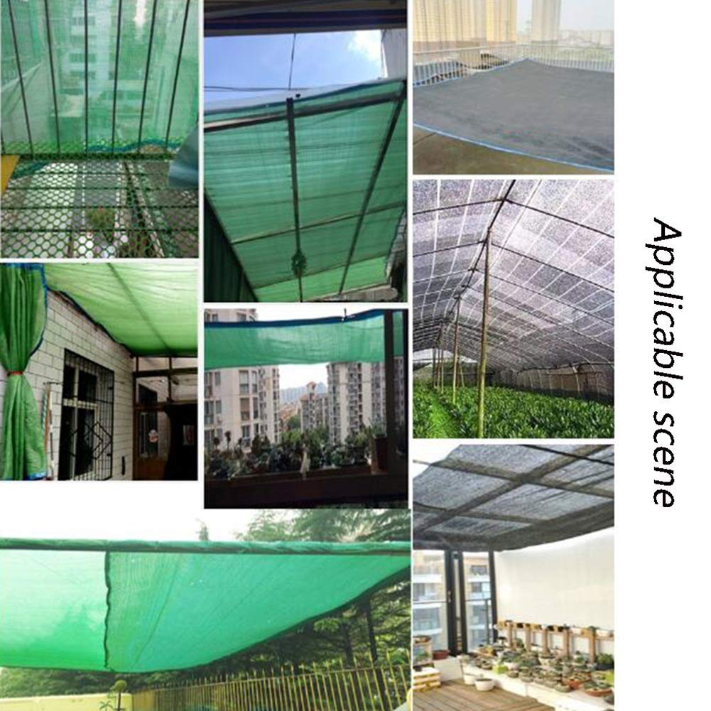 Sombratela de la Cortina 80% Malla de protección Solar para áreas ...