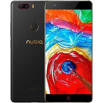 """ZTE Nubia Z17 Lite Octa-Core 4G Smartphone libre de 5.5"""" [1920*1080] / Snapdragon 653 1.9 GHz, 6GB de RAM, 64GB de ROM, Cmara dual de 13 MP + 13MP, Android 7.1 con Dual-SIM: Amazon.es: Electrónica"""