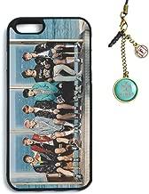 Fanstown Kpop BTS Bangtan Boys iPhone 6/6s case You Never Walk Alone + Dust Plug Charm (E01)