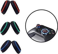 Thumb grips,【3 Pair Thumb Cover】Silicone Analog Thumb grip, Controller Covers for PS4 / PS3 / PS2 / Xbox One / 360 / Ninte...