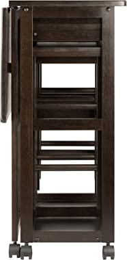 Winsome Suzanne 3-PC Set Space Saver Kitchen, Coffee Finish