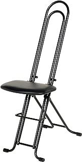 Vestil CPRO-800LP Ergonomic Worker Seat/Chair, 13-1/2
