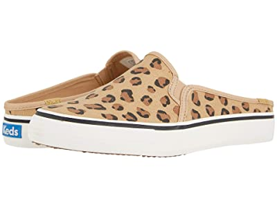 Keds Double Decker Mule Leopard (Brown) Women