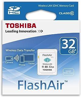Toshiba 32 GB FlashAir Class 10 [SD-F32AIR]