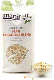 Manitou Trading Company Pearl Couscous Blend, 14-Ounce, 2 Pack