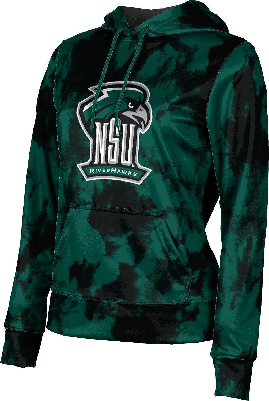 ProSphere Northeastern State University Girls' Pullover Hoodie, School Spirit Sweatshirt (Grunge)