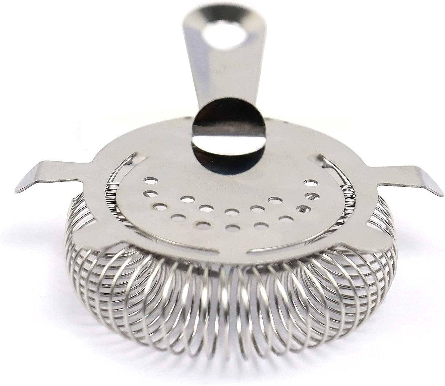 2PCS Cocktail Strainer 4 Prong Stainless Steel Bartender Strainers Ice Colander Filter Bar Accessories Tools