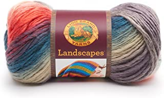 Lion Brand Yarn 545-217 Landscapes Yarn, One Size, Harvest Moon