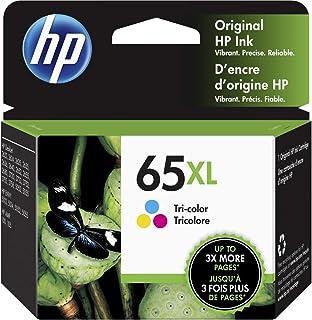 HP 65XL | Ink Cartridge | Tri-color | Works with HP DeskJet 2600 Series, 3700 Series, HP ENVY 5000 Series, HP AMP 100, 12...