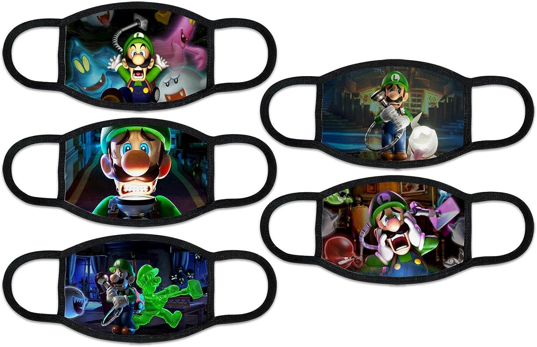 Máscara de protección facial Mike-Crack, reutilizable, transpirable, para niños y niñas, con bolsillo Fliter
