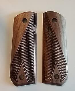 CFP Grips - 1911 Full Size Round Butt - Walnut - HTC - Rustic Series