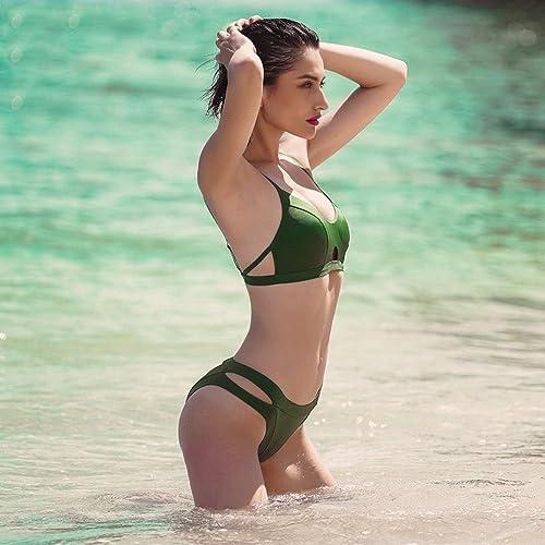 WSAD Lady Bikini Grosse Poitrine Jour Férié Sexy Maillot, Petite Poitrine, Slim plage en Maillot De Bain.