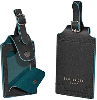 Ted Baker Monkian Luggage Tag - Black Brogue, Set of 2 - TED461
